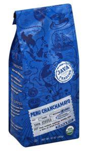 Organic Peru Chanchamayo 10 oz. ground coffee bag