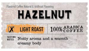Hazelnut Label