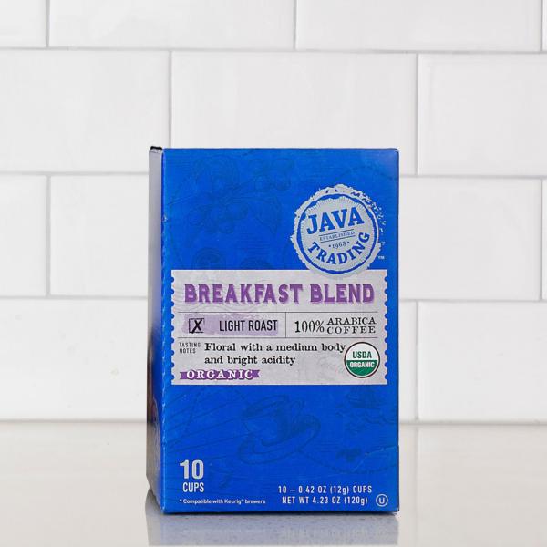 Organic Breakfast Blend Box