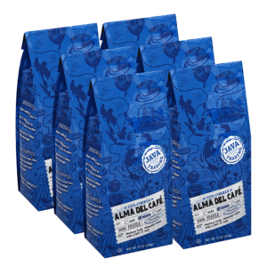 Alma Del Cafe 6 Items Case