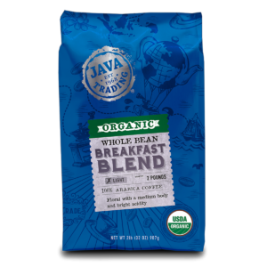 2 lb. Organic Breakfast Blend Coffee Bag