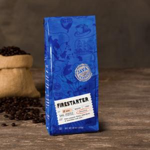 Firestarter Coffee Bag Scene