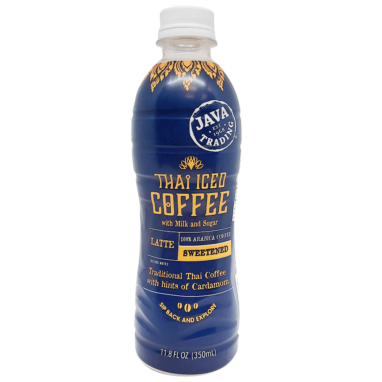 Thai latte bottle
